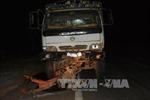 Khắc phục hậu quả vụ xe tải kéo rê công nông tại Gia Lai