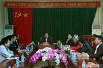 Đồng chí Nguyễn Thiện Nhân thăm các hợp tác xã tại Bắc Giang
