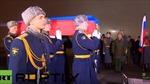 Chiến đấu cơ hộ tống đưa thi thể phi công Nga về nước