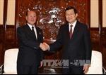 Chủ tịch nước tiếp Viện trưởng Viện Kiểm sát Tối cao Triều Tiên