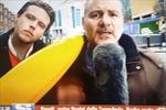 Phóng viên thể thao Italy nổi đóa trên sóng trực tiếp