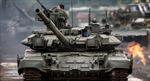 Tăng T-90 tham gia cuộc chiến vì Aleppo