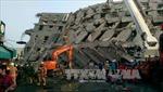 Triển khai mạnh công tác cứu hộ động đất Đài Loan