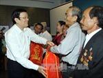 Chủ tịch nước dự họp mặt đầu Xuân Bính Thân của Ban Liên lạc tù binh Việt Nam