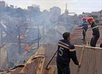 Cháy lớn giữa trung tâm Đà Lạt