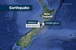 Động đất mạnh 5,8 độ richter ở miền Nam New Zealand