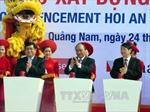 Thủ tướng phát lệnh khởi công 2 dự án trọng điểm tại Quảng Nam
