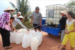 Hàng nghìn người dân ở Long An thiếu nước sinh hoạt