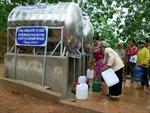 Xây dựng công trình nước tự chảy cho người dân Kon Tum