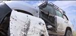 Xe chở đặc nhiệm SEAL bị đạn IS găm nát
