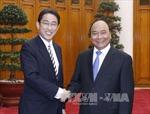 Thủ tướng tiếp Ngoại trưởng Nhật Bản