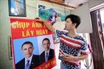 """Hàng loạt mặt hàng """"nóng"""" cùng chuyến thăm của ông Obama"""