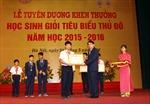 Tuyên dương, khen thưởng học sinh giỏi tiêu biểu Thủ đô