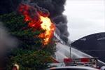 Cháy lớn tại công ty nệm Vạn Thành, Củ Chi