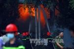 Đã khống chế vụ cháy công ty nệm Vạn Thành
