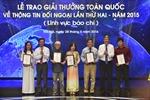 70 tác phẩm đoạt Giải thưởng toàn quốc về thông tin đối ngoại lần 2