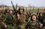 Cảnh so tài gay cấn để vào Vệ binh quốc gia Nga