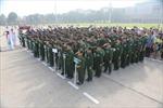 """Hơn 130 """"chiến sĩ nhí"""" xuất quân tham dự Học kỳ quân đội Viettel"""