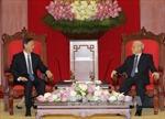 Tổng Bí thư tiếp Ủy viên Quốc vụ Trung Quốc Dương Khiết Trì