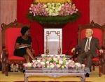 Tổng Bí thư Nguyễn Phú Trọng tiếp Phó Chủ tịch Ngân hàng Thế giới
