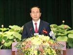 Phát biểu của Chủ tịch nước tại Lễ kỷ niệm 40 năm ngày Sài Gòn mang tên Bác