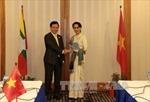 Việt Nam, Myanmar nhất trí tăng cường hợp tác