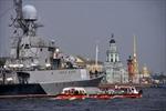 Đoàn chiến hạm Nga hùng hậu đến St.Petersburg