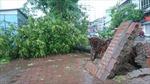 Ninh Bình, Nam Định chìm trong bão, Hà Nội nguy cơ ngập nặng