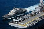 Hải quân Mỹ cam kết tiếp tục hoạt động tại Biển Đông