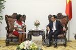 Phó Thủ tướng Phạm Bình Minh tiếp Phó Chủ tịch WB