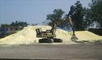 Tập kết, vận chuyển lưu huỳnh bừa bãi gây ô nhiễm