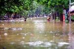 Bão số 3 gây ngập lụt tại các địa phương