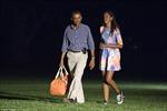 Dư luận Mỹ hóng chuyện dỗi hờn cha-con nhà Obama