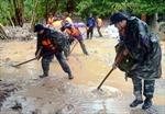 Ấm lòng nhân dân trong mùa mưa bão