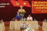 Chủ tịch Quốc hội Nguyễn Thị Kim Ngân làm việc tại Nam Định