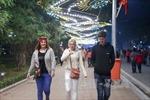 Xe cộ đi lại ra sao khi quanh hồ Hoàn Kiếm thành phố đi bộ