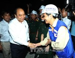 Thủ tướng thăm công trường Hầm Đèo Cả