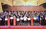 Hà Nội tuyên dương các thủ khoa xuất sắc năm 2016