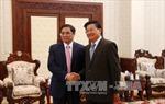 Tổng Bí thư, Chủ tịch Lào tiếp Đoàn Ban Tổ chức Trung ương