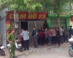 Bắt tạm giam nghi phạm vụ trọng án ở phường Dịch Vọng Hậu