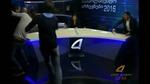 Ứng viên Quốc hội Georgia thụi nhau nhừ tử trên truyền hình