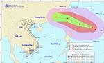 Bão Megi gây gió mạnh dần ở Đông Bắc Biển Đông