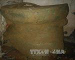 Phát hiện trống đồng hơn 2.000 tuổi gần Thành Nhà Hồ