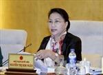 Chủ tịch Quốc hội Nguyễn Thị Kim Ngân bắt đầu thăm chính thức Lào