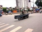 Siết hoạt động của xe thô sơ, xe cơ giới chở cồng kềnh