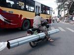 CSGT Hà Nội ráo riết bắt xe chở cồng kềnh