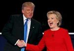 Bà Clinton giành chiến thắng trong cuộc tranh luận đầu tiên?