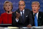 Người điều phối cuộc tranh luận Clinton – Trump mất điểm