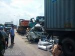 Tai nạn liên hoàn trên cầu Phú Mỹ, một người tử vong