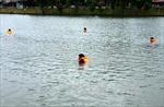 Hai học sinh chết đuối trong vũng nước thi công